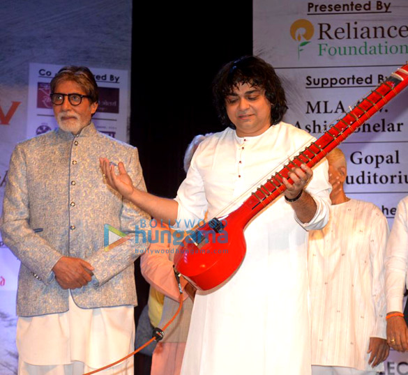 Amitabh Bachchan snapped at the launch of Kartick Kumar Foundation (5)