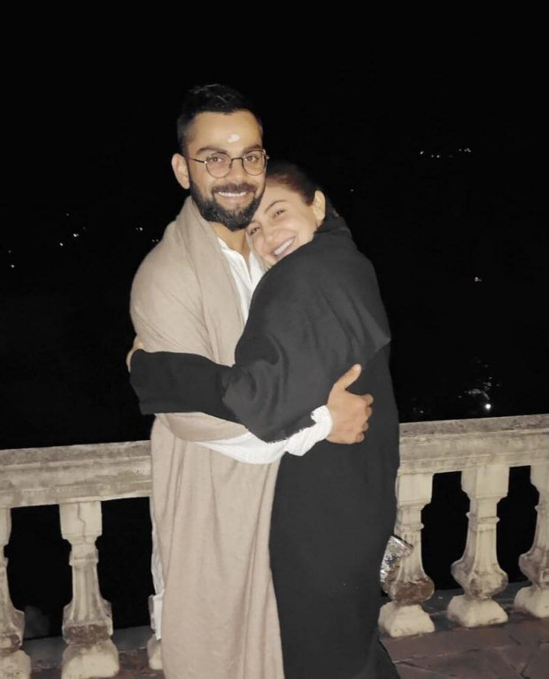 Anushka Sharma expresses her love for Virat Kohli with a lovey - dovey post on his birthday