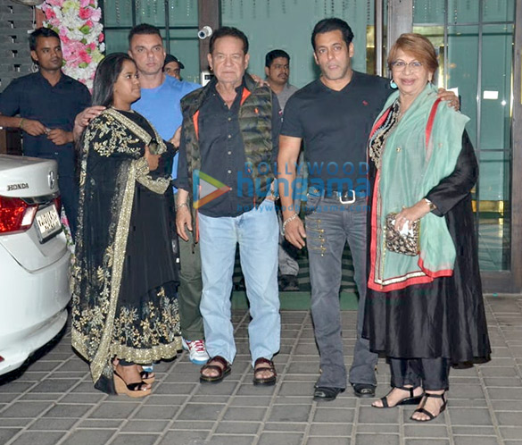 Celebs grace Aayush Sharma and Arpita Khan's Diwali bash