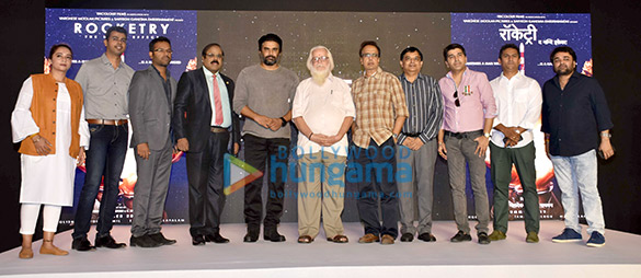 Celebs grace the trailer launch of the film 'Rocketry The Nambi Effect'