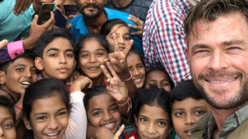 Chris Hemsworth shares selfie with fans in Ahmedabad while shooting Netflix film Dhaka