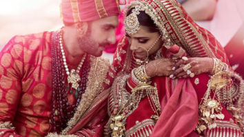 FIRST OFFICIAL pics out: Ranveer Singh - Deepika Padukone look breathtakingly REGAL as they tie the knot at Lake Como
