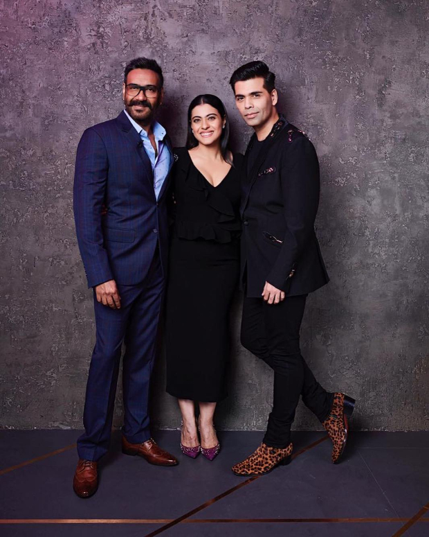 Koffee With Karan 6: 'All is well' teases Kajol as she brings Ajay Devgn and Karan Johar face to face