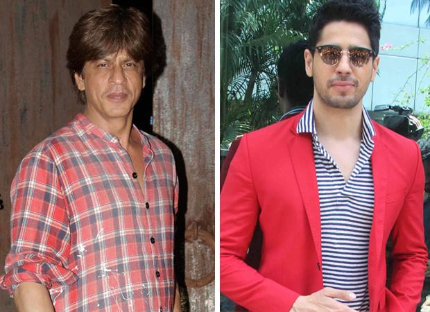 HILARIOUS Shah Rukh Khan ACCUSES Sidharth Malhotra of THEFT
