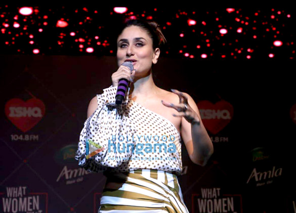 Kareena Kapoor Khan snapped at the launch of 'What Women Want' show of Ishq 104.8 FM (5)