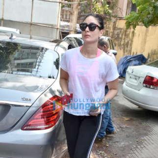 Kareena Kapoor Khan snapped at the gym