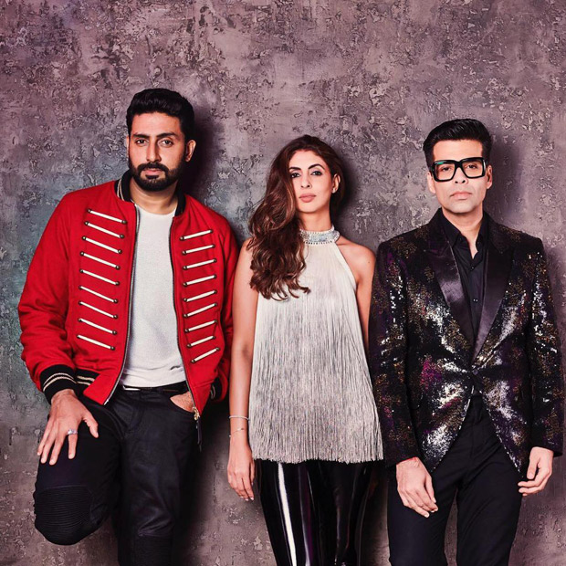 Koffee With Karan 6 Shweta Bachchan and Abhishek Bachchan to spill the beans on Karan Johars show
