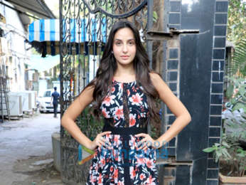 Nora Fatehi snapped at Zee's office in Andheri