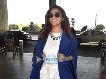 Priyanka Chopra, Nick Jonas, Parineeti Chopra and others snapped at the airport