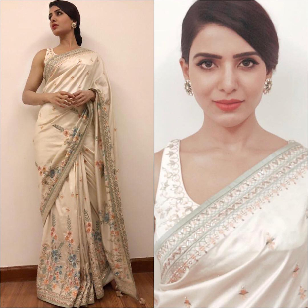 Samantha Ruth Prabhu in Anita Dongre for an event (4)