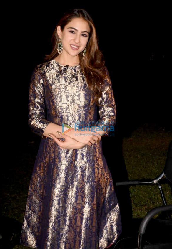 Sara Ali Khan snapped at Reliance Studio (6)