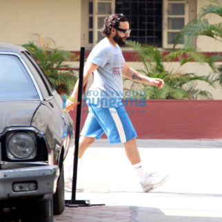 Shahid Kapoor and Saif Ali Khan snapped at the gym