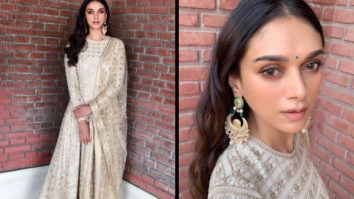 Slay or Nay - Aditi Rao Hydari in Taun Tahiliani for India Bridal Fashion Store Launch in Jaipur (Featured)