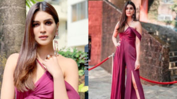 Slay or Nay - Kriti Sanon in Lola by Suman for IFFI 2018 Goa (Featured)