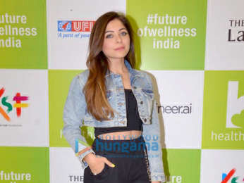 Sonakshi Sinha and Kanika Kapoor attends India's BIG Health show event