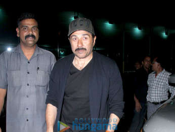 Sunny Deol and Bobby Deol snapped at Hoot in Juhu