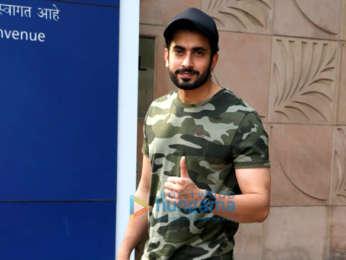 Sunny Singh Nijjar snapped at Novotel, Juhu