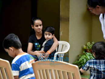Taimur Ali Khan, Inaaya Naumi Kemmu and Laksshya Kapoor spotted at play school in Bandra