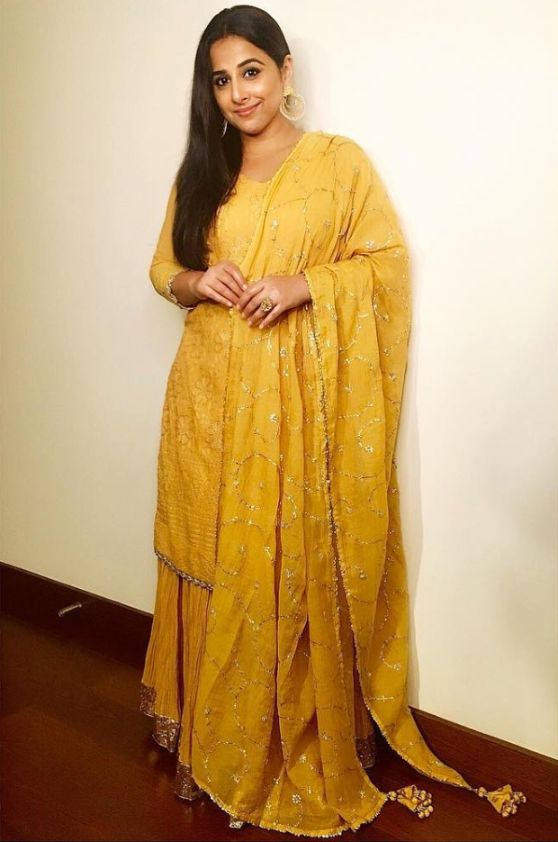 Vidya Balan in Faabiiana for the festive season (1)