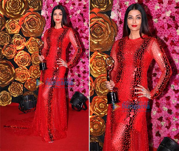 Worst Dressed at Lux Golden Rose Awards 2018 - Aishwarya Rai Bachchan