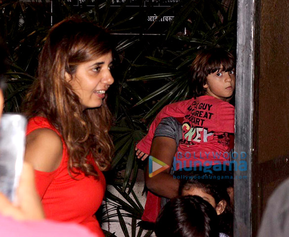 AbRam Khan snapped in Mumbai (1)