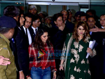 Aishwarya Rai Bachchan, Varun Dhawan, Abhishek Bachchan and others snapped at the airport