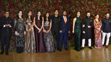 Ambani Family, Bachchan Family & Nawab Family at Ranveer-Deepika Wedding Reception