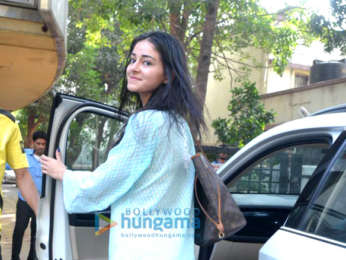 Ananya Pandey spotted after salon session in Bandra