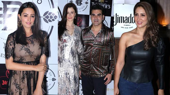Arbaaz Khan, Giorgia Andriani, Daisy Shah and others at Red Carpet of Barrel Mansion