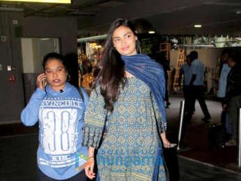Athiya Shetty and Kangana Ranaut snapped at the airport