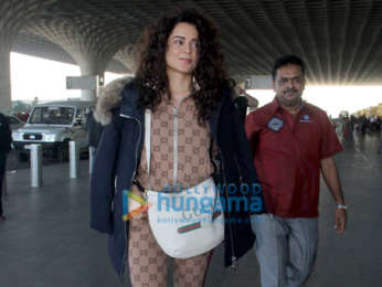 Bhumi Pednekar, Kangana Ranaut, Varun Dhawan and others snapped at the airport