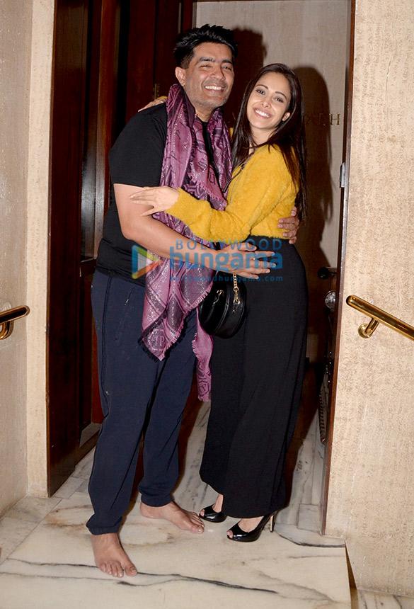 Celebs attend Manish Malhotra's house party