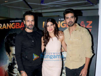 Celebs grace Rangbaaz screening at Sunny Super Sound in Juhu