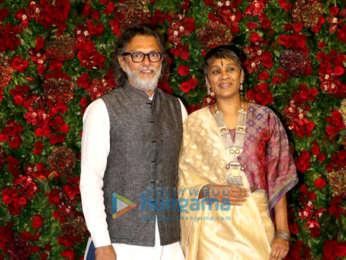Deepika Padukone and Ranveer Singh grace their Mumbai reception