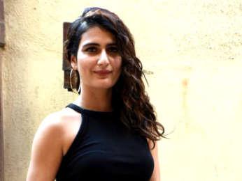 Fatima Sana Shaikh snapped in Juhu
