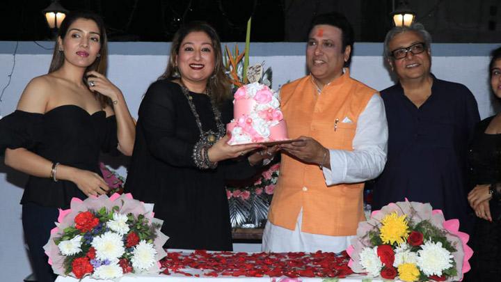 Govinda's Grand 55th Birthday Celebration with Family