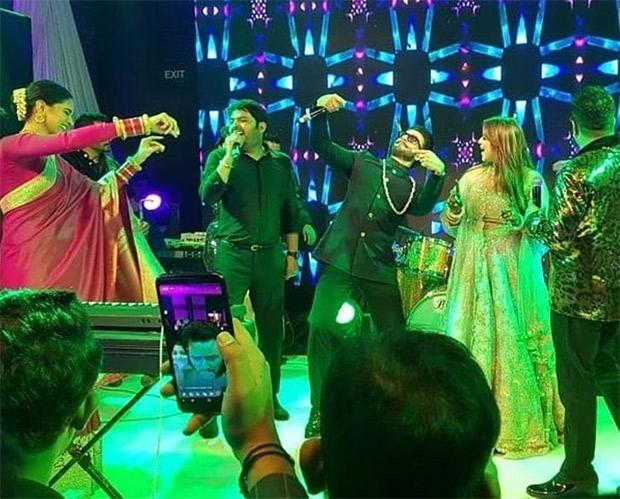 Inside pics & videos of Kapil Sharma - Ginni Chatrath's reception: Mika Singh brings the house down with Ranveer Singh - Deepika Padukone