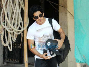 Janhvi Kapoor and Ishaan Khatter snapped at gym