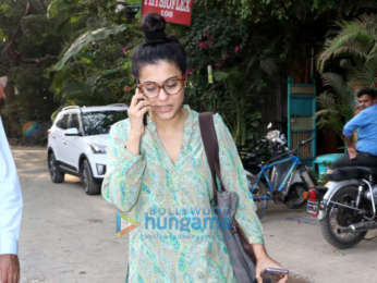 Kajol spotted at Physioflex in Versova