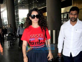 Kangana Ranaut, Maniesh Paul and others snapped at the airport