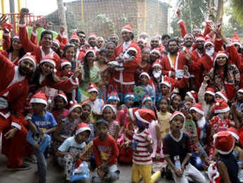Kunal Kapoor snapped at Ketto's Santa charity run event