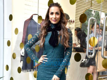 Malaika Arora snapped at her store