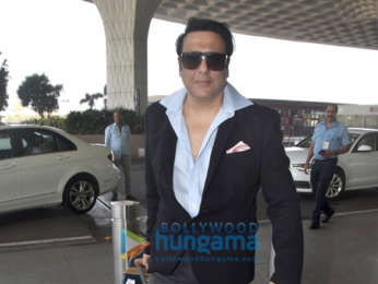 Mouni Roy and Govinda snapped at the airport