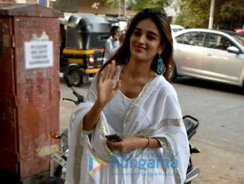 Nidhhi Agerwal snapped in Mumbai