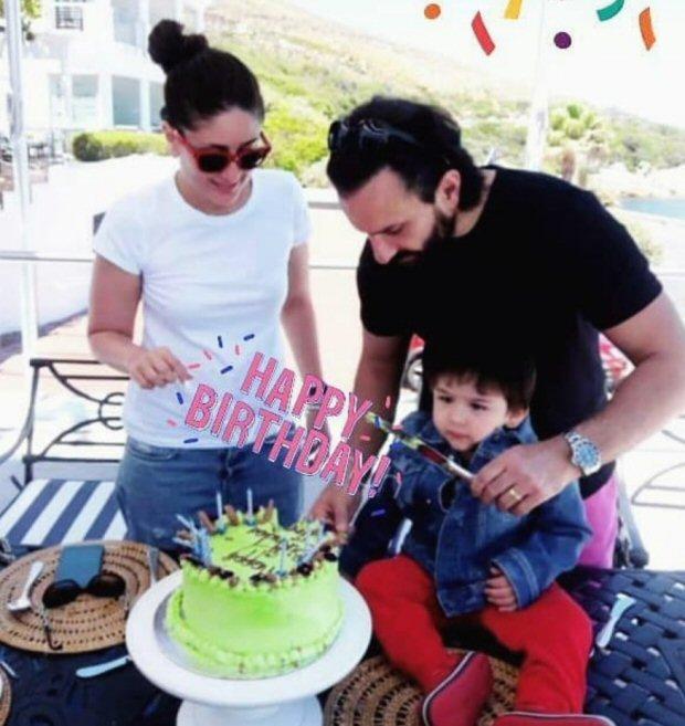 PHOTOS Saif Ali Khan and Kareena Kapoor Khan celebrate their son Taimur Ali Khan's 2nd birthday in Cape Town
