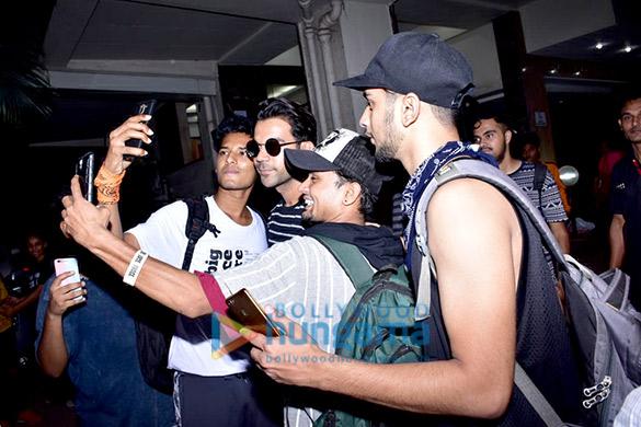 Rajkummar Rao spotted in Andheri