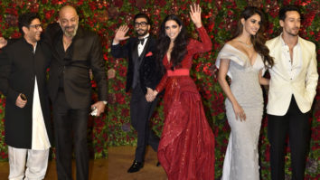 Sanjay Dutt,Tiger Shroff, Disha Patani & others at Ranveer-Deepika Wedding Reception