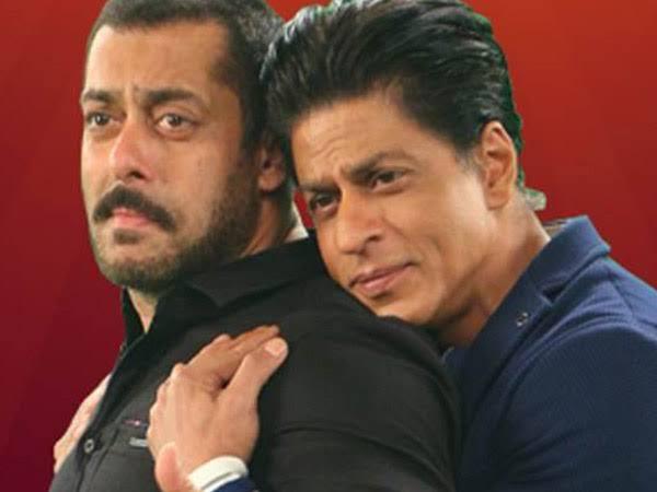 Shah Rukh Khan and Salman Khan choke on emotions as they watch Karan Arjun on television