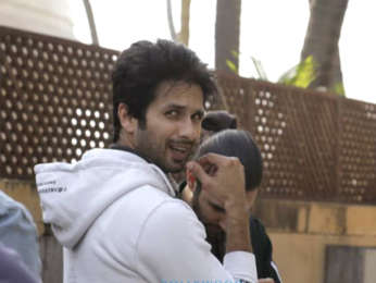 Shahid Kapoor spotted in Juhu