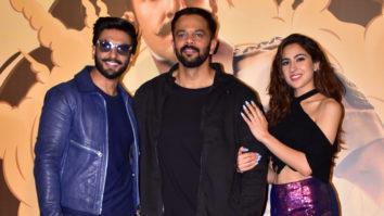 Simmba Official Trailer Launch Ranveer Singh, Sara Ali Khan, Sonu Sood Rohit Shetty Part 2
